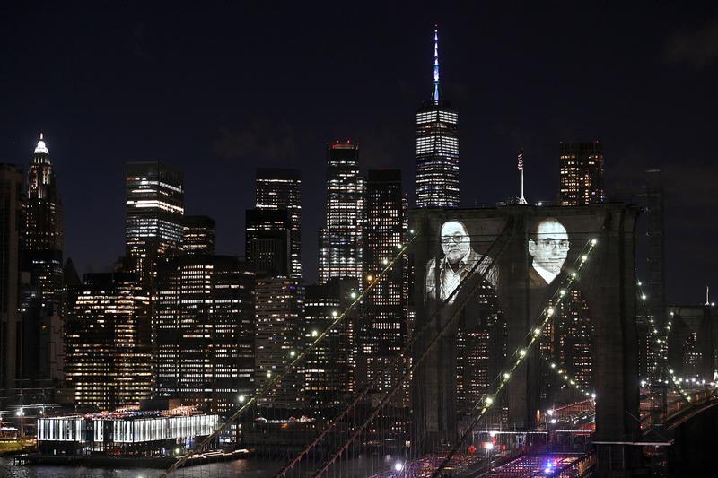 В Нью-Йорке почтили память жертв коронавируса