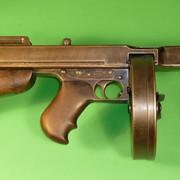 """Jedan od pištolja koji sukoristili - """"tompson"""" kalibra 42"""