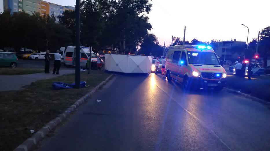 A tragédia kicsivel több, mint egy évvel ezelőtt történt Zuglóban. / Fotó: Blikk