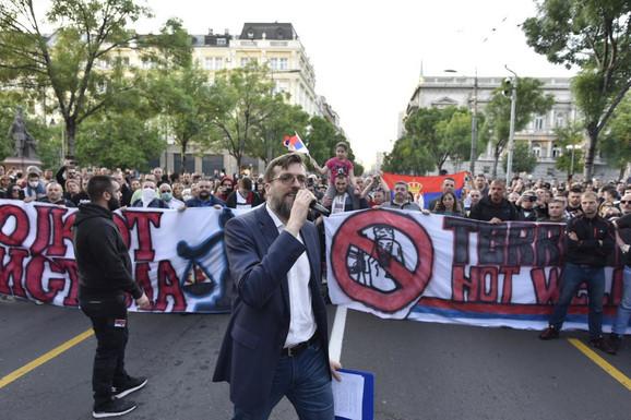 Amerikanci tvrde da iza poslednjih protestadesničara u Beogradu stoji maligni ruski uticaj