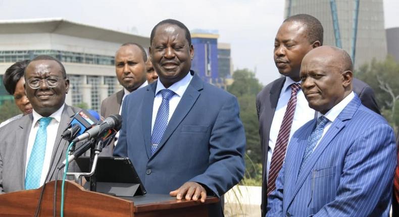 Raila Odinga meets Mt Kenya delegation ahead of joint visit with President Uhuru Kenyatta to Central Kenya