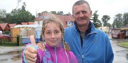 10-latka przeszła całe polskie wybrzeże