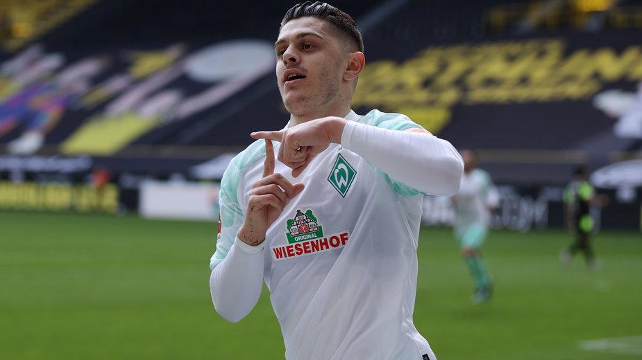 Milot Rashica spadł z Werderem Brema z Bundesligi