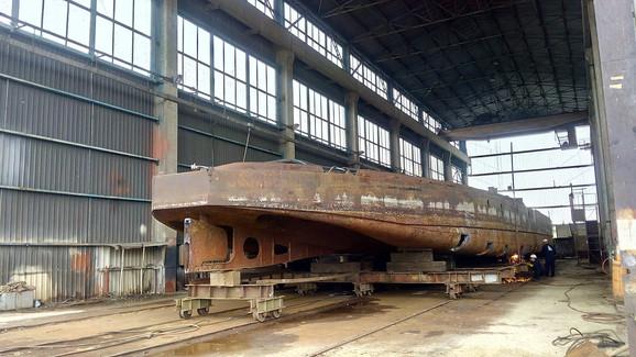Od olupine do brod muzeja