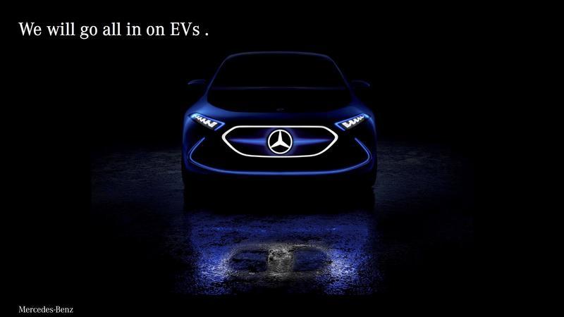Wszystkie modele Mercedesa będą dostępne w wersji z napędem elektrycznym