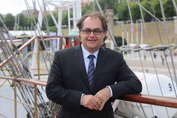 Marek Gróbarczyk, minister gospodarki morskiej i żeglugi śródlądowej