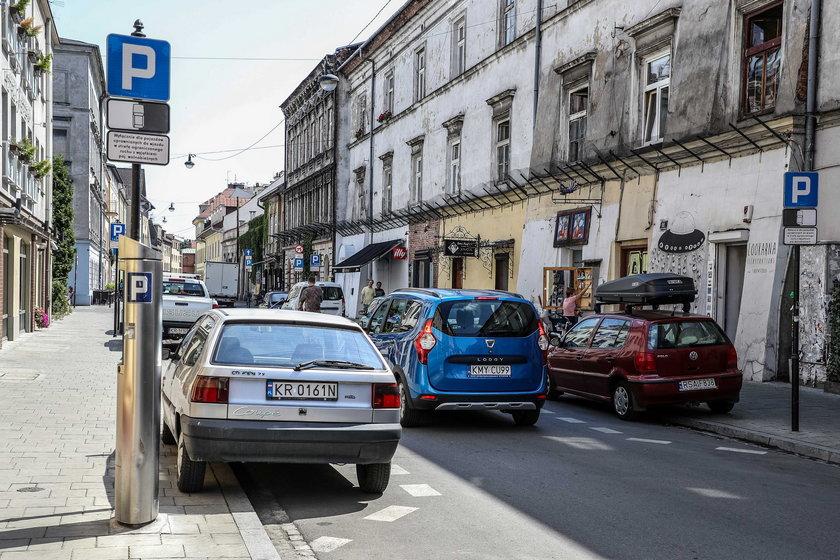 Strefa ograniczonego ruchu na Kazimierzu