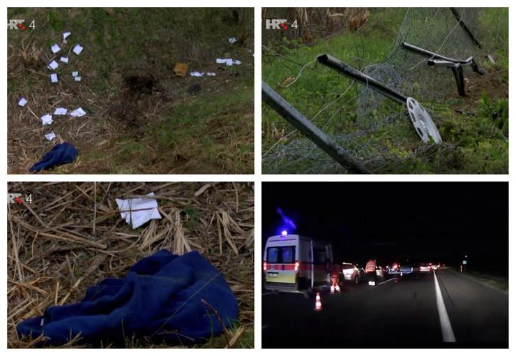 Nesreća u Hrvatskoj u kojoj je poginulo četvoro državljana Srbije