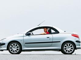 Peugeot 206 CC: dobrze się składa mimo upływu lat?