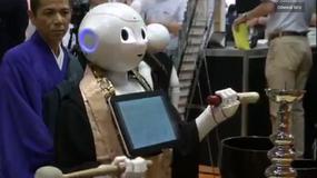 Robot do wynajęcia na buddyjskie rytualne pogrzeby