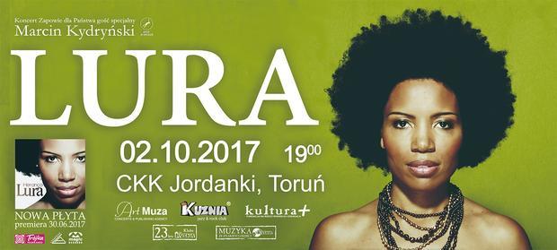 LURA w Polsce - plakat koncertowy
