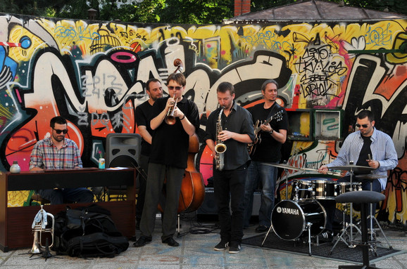 Mladi profesori džez odseka FMU-a