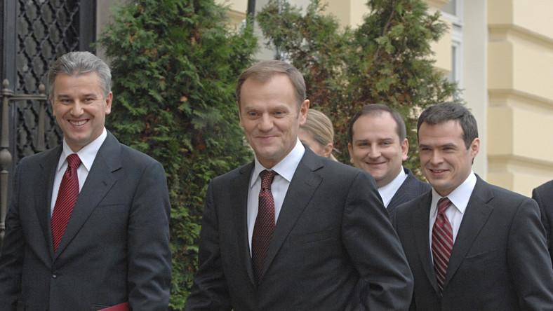 Tusk nie wymieni najgorszych ministrów