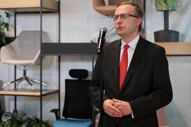 Prezes Polskiego Funduszu Rozwoju Paweł Borys
