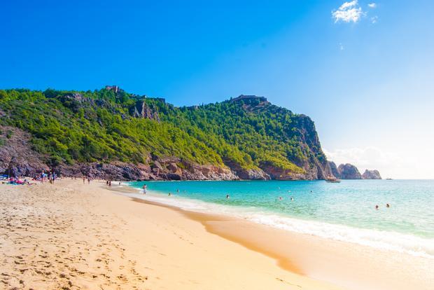 Plaża Kleopatry w Alanya