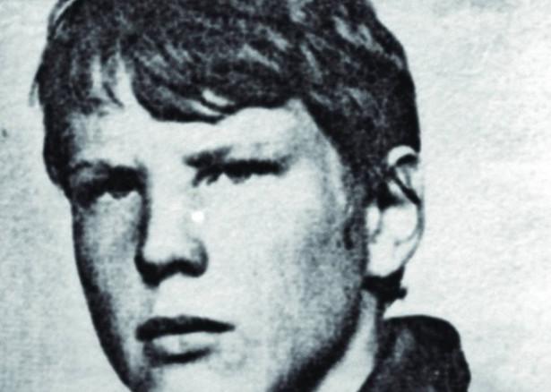 Grzegorz Przemyk. Fotografia z Nekrologu - około 1985 r. / Wikimedia Commons