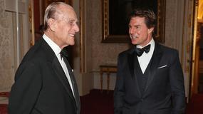 Tom Cruise z wizytą w Pałacu Buckingham. Czemu odwiedził księcia Filipa?