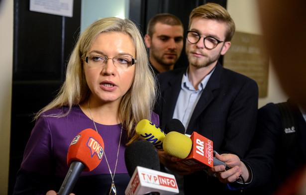 Przewodnicząca komisji Małgorzata Wassermann