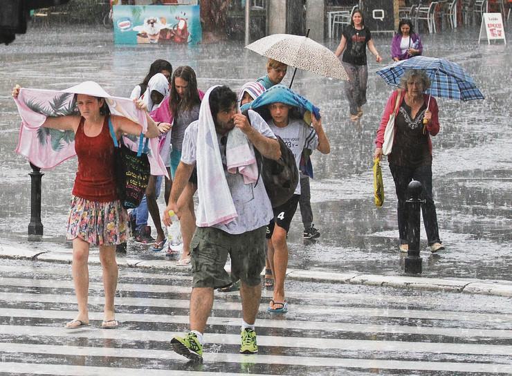 Kiša, nevreme, pljuskovi