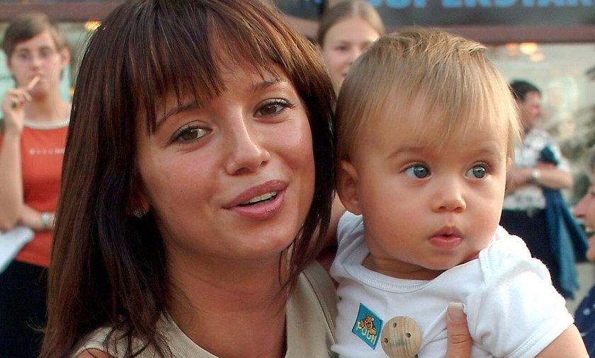 Anna Przybylska z córką Oliwią Bieniuk.