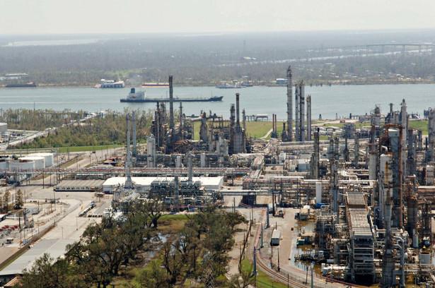 Tankowiec na rzece Mississippi, stan Luizjana