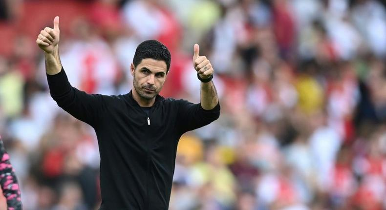 Mikel Arteta is remaining upbeat despite Arsenal's tough start to the season Creator: DANIEL LEAL-OLIVAS