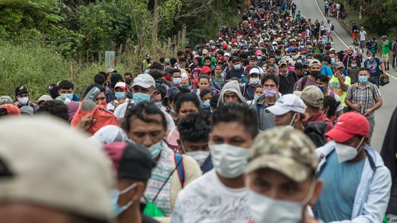 Marsz migrantów z Hondurasu do USA