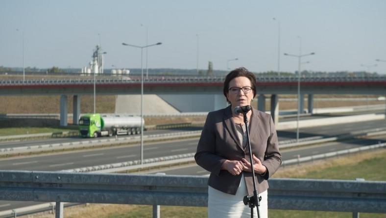 Pani premier pracowicie spędzała weekend - w niedzielę odbywała wizytę w województwie łódzkim...