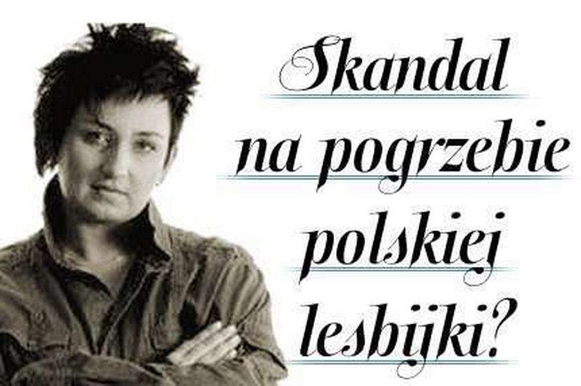 Skandal na pogrzebie polskiej lesbijki?
