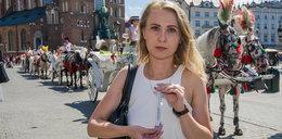 Konie na krakowskim rynku męczą się z powodu upałów