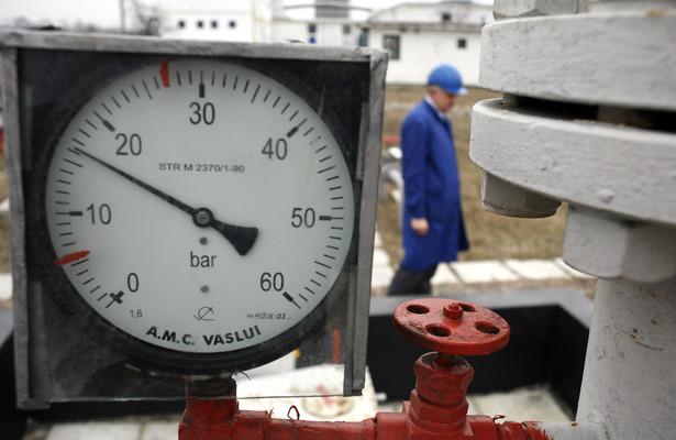 Ciśnieniomierz na magistrali gazowej w Rumunii, która miała być jednym z krajów tranzytowych gazociągu Nabucco.