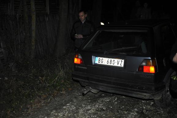 Automobil kojim su se dovezli nastradali