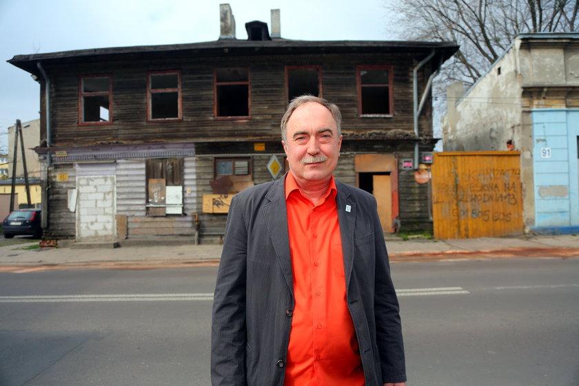 Arkadiusz Bogusławski, kierownik projektu rewitalizacji Księżego Młyna