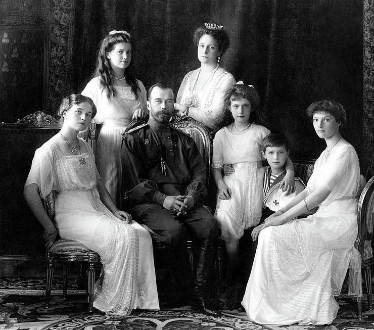 Porodica Romanovih 1913.