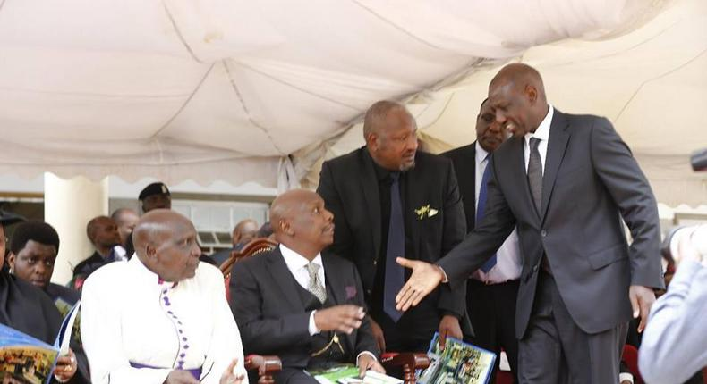 Philip Moi's comment on DP Ruto's speech at Jonathan's funeral