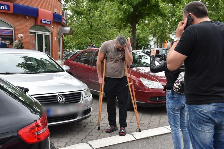 SUDAR KOD VMA Miki Đuričić doživeo saobraćajku ČIM JE IZAŠAO IZ BOLNICE (FOTO)
