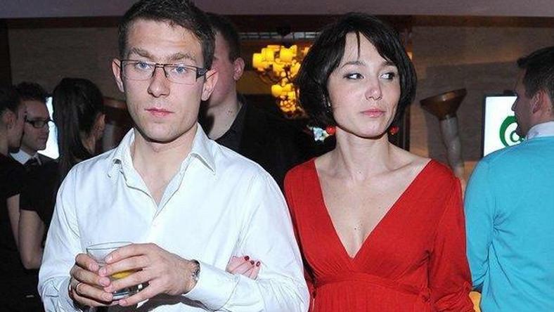Karolina Borkowska z mężem