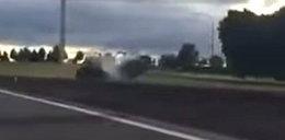 Tragedia na autostradzie. Jechał pod prąd. Film