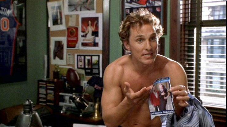 """Matthew McConaughey w filmie """"Jak stracić chłopaka w 10 dni"""""""