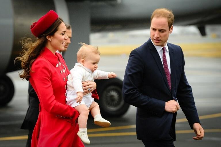Pierwsza podróż zagraniczna księcia George'a