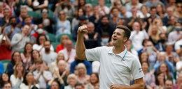 """Hurkacz """"człowiek-demolka"""" zafascynował świat tenisa"""