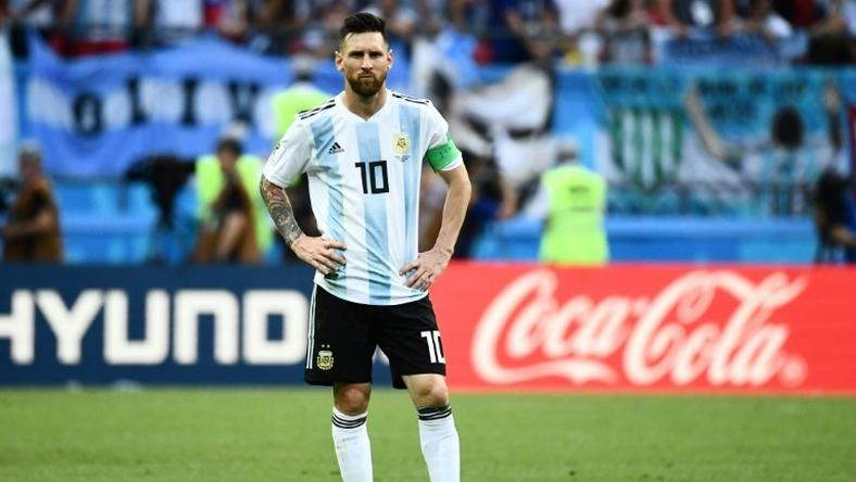 Lionel Messi's last Argentina appearance was against France at the World Cup in Russia on June 30, 2018