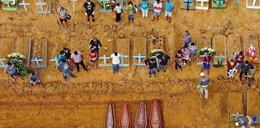 Dramatyczna sytuacja w Brazylii. Masowe groby dla tysięcy ofiar koronawirusa