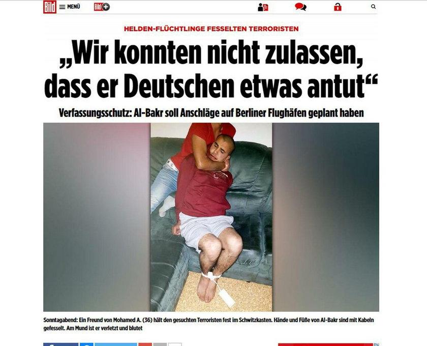 To uchodźcy pomogli schwytać terrorystę w Niemczech