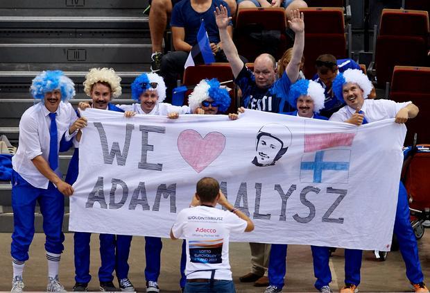 Fińscy fani Adama Małysza