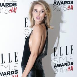 Rosie Huntington-Whiteley i inne piękne panie na gali Elle Style Awards