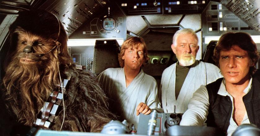 """Kadr z filmu """"Gwiezdne wojny"""""""