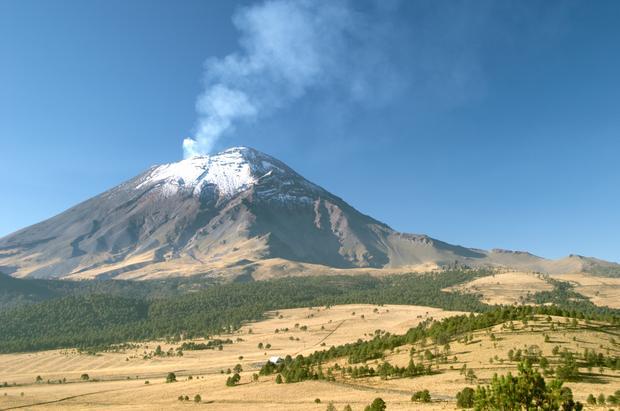 Wulkan, Meksyk