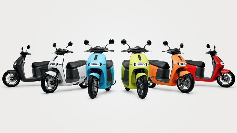 Gogoro 2: dwuosobowy skuter elektryczny