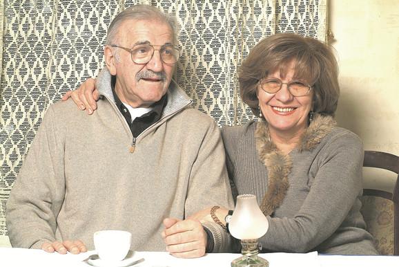 U skladnom braku skoro šest decenija: Bata i Lula Živojinović
